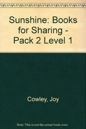 Sunshine: Books for Sharing - Pack 2 Level 1 (9780435004392) by Joy Cowley
