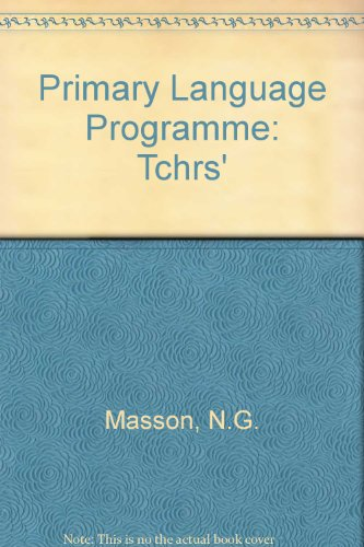 9780435014841: Primary Language Programme: Tchrs'