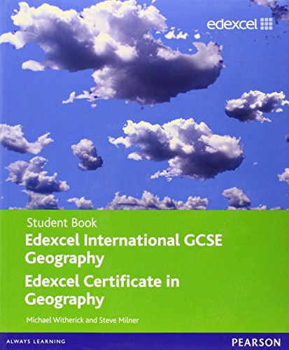 9780435016951: Edexel international GCSE geography student book. Con espansione online. Per le Scuole superiori (Edexcel International GCSE)