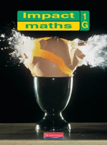 9780435017613: Impact Maths Pupil Textbook 1 Green (Yr7): 1G - Year 7