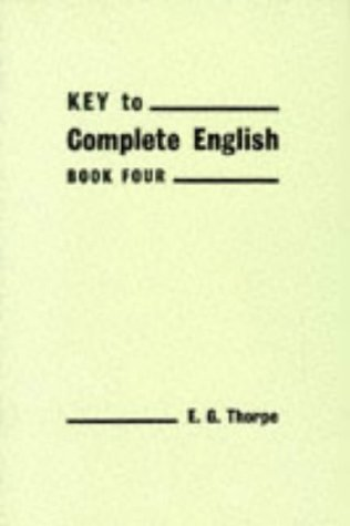 9780435018924: Keys to Complete English (Bk. 4)