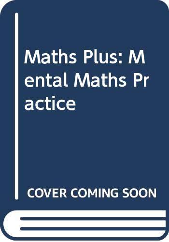 9780435024147: Maths Plus: Mental Maths Practice
