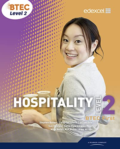 9780435026592: BTEC Level 2 First Hospitality Student Book