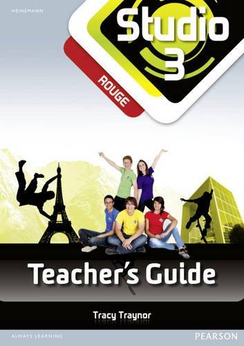 9780435030728: Studio 3 rouge Teacher's Guide & CD-Rom (11-14 French)