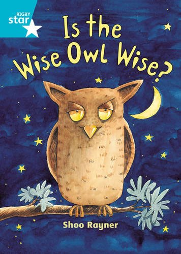 9780435031589: Is The Wise Owl Wise? (International Rigby Star: Audio Big Books)