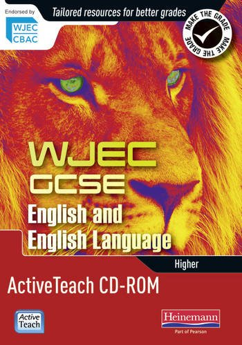 WJEC GCSE English and English Language Higher Active Teach CD-ROM (Mixed media product): David ...