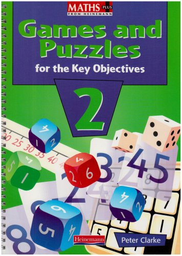 9780435032517: Maths Plus: Games and Puzzles for the Key Objectives Year 2