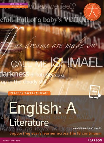 Pearson Baccalaureate: English A: literature for the: Adkins, Jan (Author)/