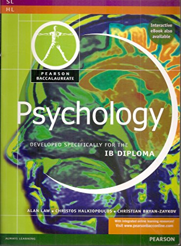 9780435032883: Pearson Baccalaureate: Psychology for the IB Diploma