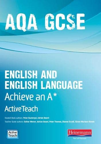 AQA GCSE English/English Language Active Teach BBC Pack: Achieve A* (Mixed media product): ...