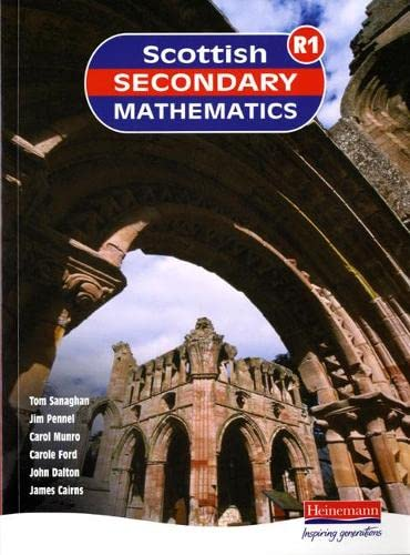 Scottish Secondary Maths Red 1 Student Book: SSMG