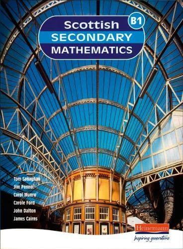 9780435040123: Scottish Secondary Maths: 1b Student Book (Scottish Secondary Maths)