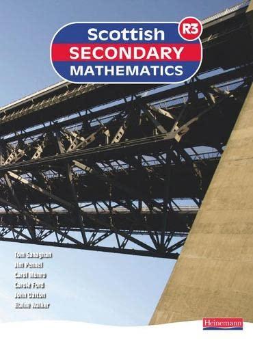 9780435040567: Scottish Secondary Mathematics Red 3: Student Book (Scottish Secondary Maths)