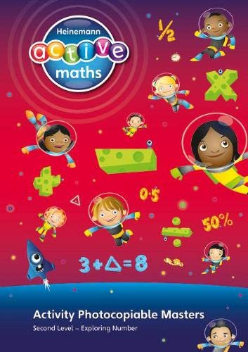 9780435042462: Heinemann Active Maths Exploring Number: Second Level: Second Level Activity Photocopiable Masters