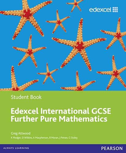 9780435044145: Edexcel Igcse Further Pure Mathematics. Student Book (Edexcel International GCSE)