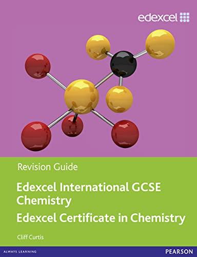 9780435046729: Edexcel Igcse Chemistry. Revision Guide (Edexcel International GCSE)