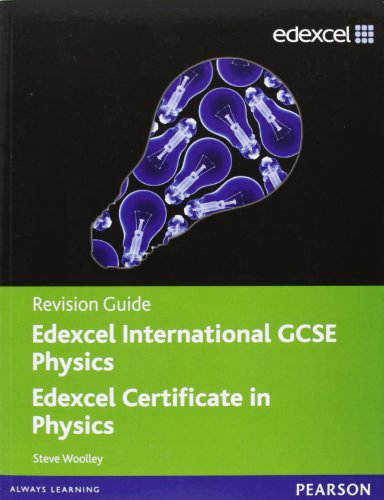 9780435046736: Edexcel International GCSE Physics Revision Guide with Student CD
