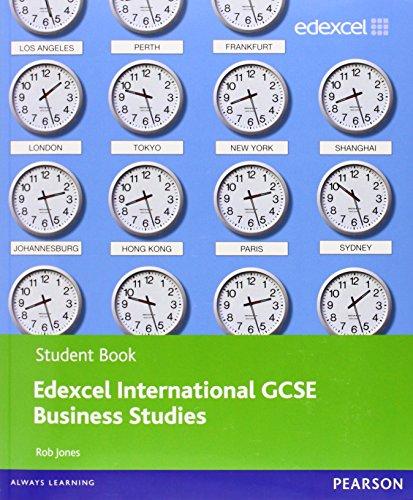 9780435046743: Edexcel International GCSE Business Studies Student Book with ActiveBook CD