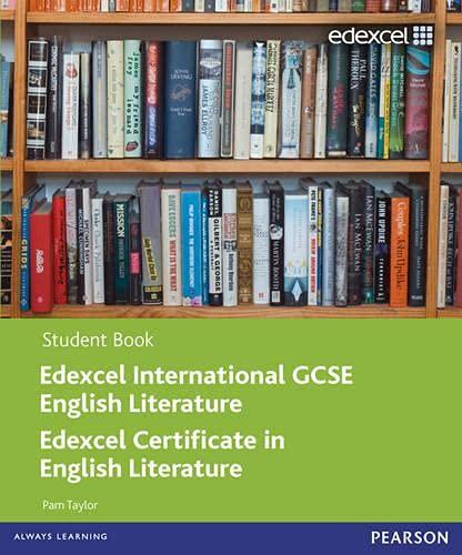 9780435046750: Edexcel Igcse English Literature. Student Book (Edexcel International GCSE)