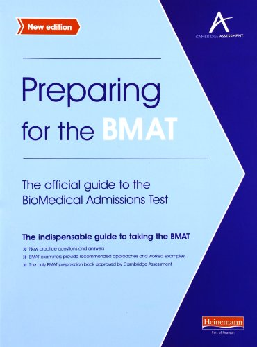 9780435046873: Preparing for the BMAT: The official guide to the Biomedical Admissions Test New Edition