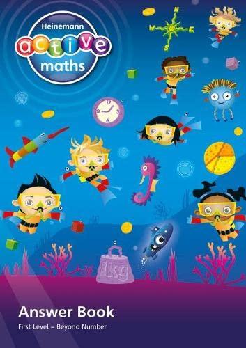 9780435047566: Heinemann Active Maths -- Beyond Number -- First Level -- Answerbook