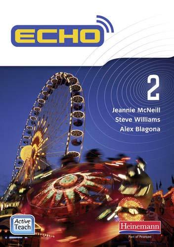 9780435048419: Echo 2 ActiveTeach CD-ROM (Echo KS3 Activeteach)