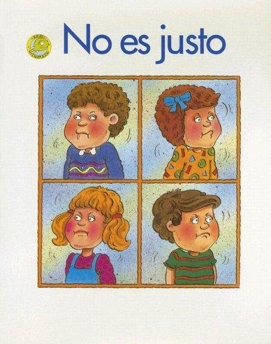 No Es Justo (Spanish Tadpoles) (Spanish Edition): Almada, Pat