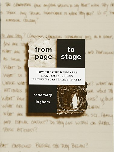 9780435070427: From Page to Stage: How Theatre Designers Make Connections Between Scripts and Images