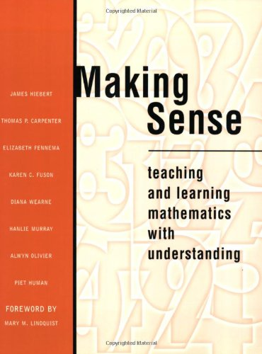 9780435071325: Making Sense: Teaching and Learning Mathematics with Understanding