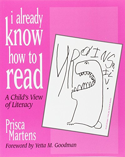 9780435072261: I Already Know How to Read: A Child's View of Literacy