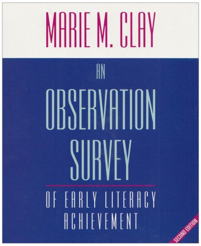 9780435072605: An Observation Survey of Early Literacy Achievement (READING RECOVERY)