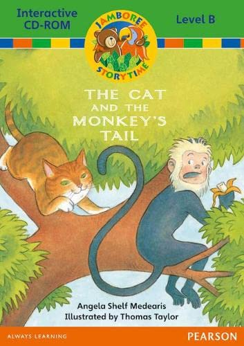 9780435073794: Jamboree Storytime Level B: The Cat and the Monkey's Tail Interactive CD-ROM