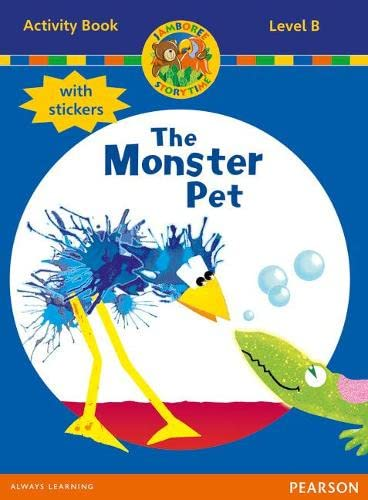 9780435073909: Jamboree Storytime Level B: The Monster Pet Activity Book with Stickers