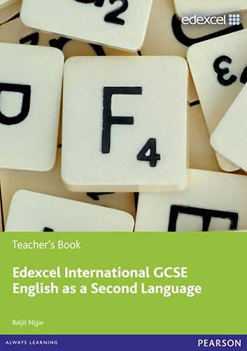 9780435074500: Edexcel Igcse English as a Second Language. Teacher's Book (Edexcel International GCSE)
