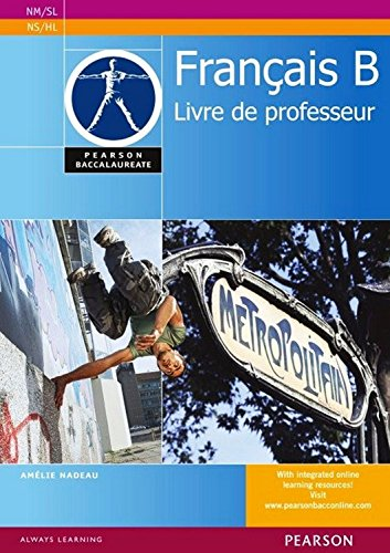 9780435074548: French. B (Pearson International Baccalaureate Diploma: International Editions)