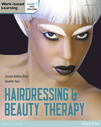 9780435074883: Level 1 NVQ Diploma Hairdressing and Beauty Therapy Candidate Handbook