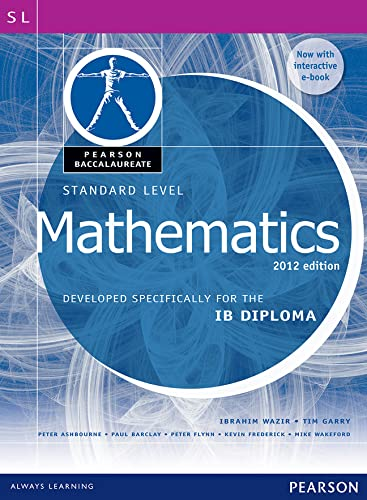 9780435074975: Pearson Baccalaureate Standard Level Mathematics Bundle for the IB Diploma: Developed Specifically for the IB Diploma