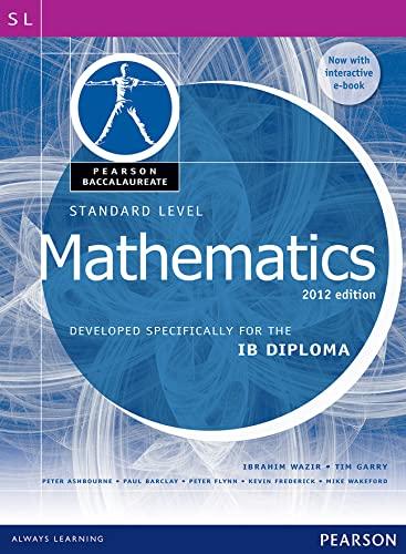 Pearson Bacc SL Maths 2e bundle (2nd: Wazir, Ibrahim; Wazir,