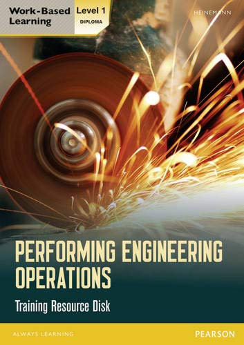 9780435075095: Performing Engineering Operations: Training Resource Disk Level 1