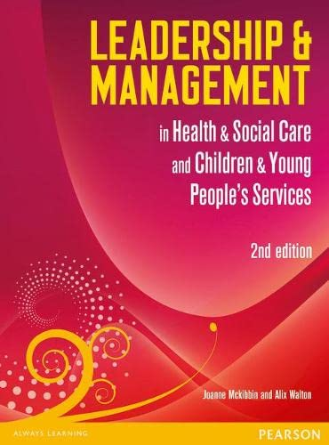 9780435075149: Leadership and Management in Health and Social Care Level 5: NVQ/SVQ (Leadership & Management)