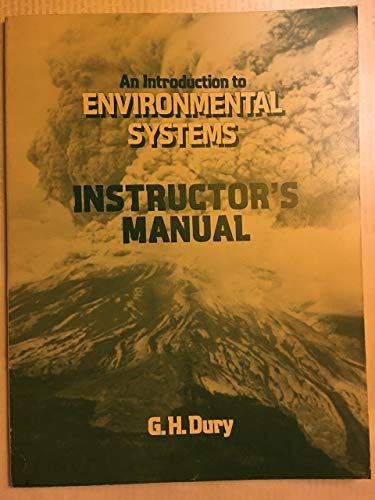 9780435080020: Introduction to Environmental Systems: Tchrs'