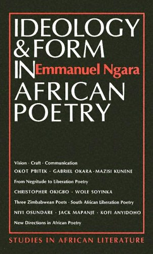 9780435080457: Ideology & Form in African Poetry (STUDIES IN AFRICAN LITERATURE NEW SERIES)