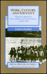 9780435080921: Work, Culture, and Identity (Social History of Africa)