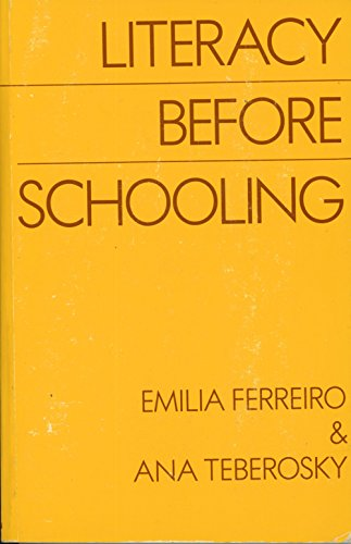 Literacy Before Schooling: Ana Teberosky, Stephen
