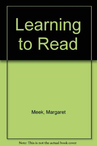 9780435082512: Learning to Read