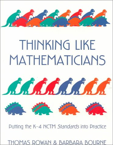 9780435083434: Thinking Like Mathematicians, 1st ed.