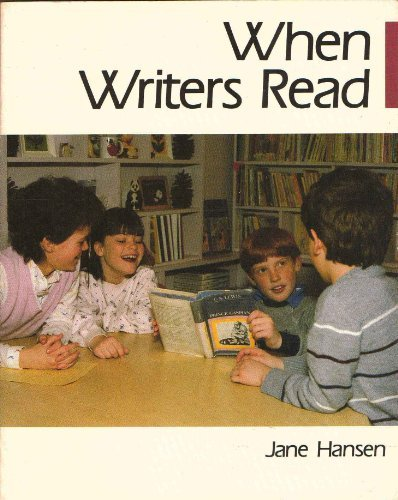 Image result for When Writers Read - Jane Hansen