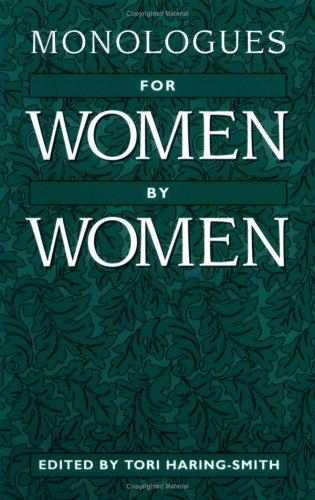 9780435086305: Monologues for Women, by Women