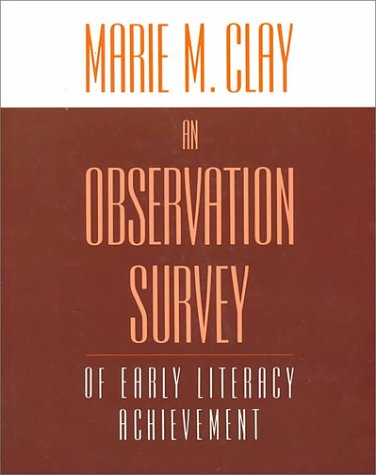 9780435087630: An Observation Survey: of early literacy achievement