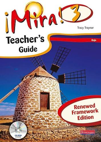 Mira 3 Rojo Teacher s Guide (Mixed media product): Tracy Traynor